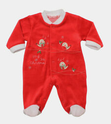 And039my First Christmasand039 Sleeper All In One Babygrow. New Baby/babyshower Gift