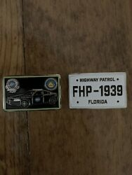 Florida Highway Patrol 1939 License Plate Coin