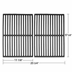 7526 17.25 Cast Iron Grill Grates For Weber Spirit ,genesis ... 2 Pack New