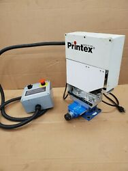 Printex Pad Printer With Control Screen Operating System And Foot Pedal