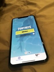 Iphone Xs Max With Fortnite Installedbanned From App Store