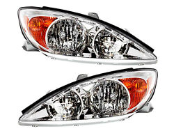 For Head Lamp 2002 2003 2004 Camry Le Xle Pair Passenger Right Driver Left