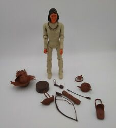 Marx Johnny West Best Of The West 12 Tall Vintage Geronimo W/ Accessories