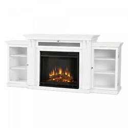 Tv Stand W/electric Fireplace Entertainment Center For Tvs Up To 48 Classic