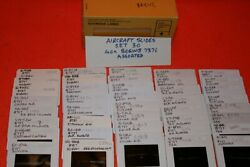 Aircraft Slide Set 30 Containing 40 X Assorted Boeing 737 Aircraft