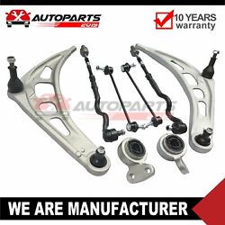 New Front Lower Control Arm Kit Tie Rods Bushings And Sway Bar Links For Bmw E36