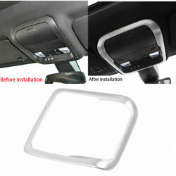 Fit For Cadillac Xt6 2019-2020 Front Reading Light Cover Trim Abs Matte Silver
