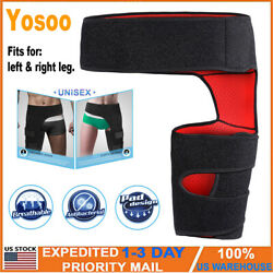 Hip Brace Compression Groin Support Wrap For Sciatica Thigh Recovery Pain Relief