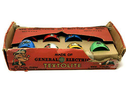 Textolite Popeye Cheers For Christmas Lights, Vintage 1929 By General Electric
