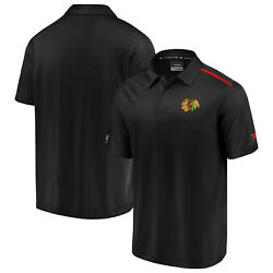 Nhl Hoody Chicago Blackhawks Rinkside Polo Shirt Authentic Synthetic