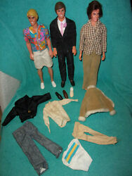 Barbie  Older Ken Dolls And Outfits Shoes