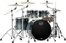 Mapex Saturn 4-piece Rock Shell Pack - Teal Blue Fade