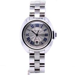 Cle Automatic Silver Dial Automatic 31mm Stainless Steel Ref. Wscl0005
