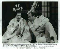 1995 Press Photo Giacomo Pucciniand039s Madama Butterfly Will Be Televised Over Pbs