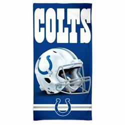 Nfl Bath Towel Indianapolis Colts Spectra Beach Towel 59 1/8x29 1/2in