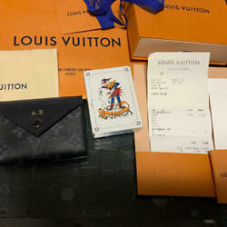 Louis Vuitton Playing Card Case From Japan Used Ems
