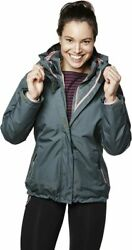 Helly Hansen Womenand039s Squamish Cis 3-in-1 Rain Jacket X-large Rock