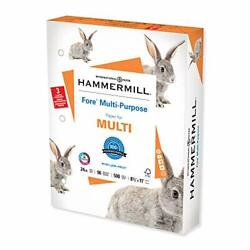 Hammermill Fore Multi-purpose 24lb Copy Paper 85 X 11 3 Hole Punched 1 Ream 500