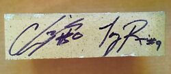 Autographed Brick From University Of Notre Dame Football Stadium
