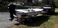 Boat Hull Only Motor Is Not Included. 2016 Carolina Skiff J16.