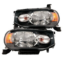 Headlights Set Left Right High Quality Capa Pair For 2009-2014 Nissan Cube
