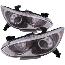 Headlights Hid Type Capa Left Right Pair Fits Inifinity Qx60/14-15/j-x35 13