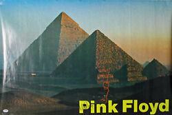 Nick Mason And David Gilmour Authentic Signed 24x36 Pink Floyd Poster Psa Y06704