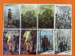 The Walking Dead Lot 15th Anniversary Blind Bag Variant Cover Lot / 17 Nm Comics