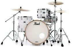 Pearl Masters Maple Complete 3-piece Shell Pack - 22 Kick - White Marine Pearl