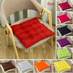 Indoor Outdoor Soft Chair Seat Cushion Pad Mat Garden Dining Room Patio Cushions