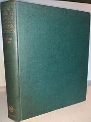 C.1925 First Ed Rare English Glasses By Joseph Bles Antiques History Hc