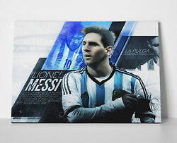 Lionel Messi Country Poster Or Canvas