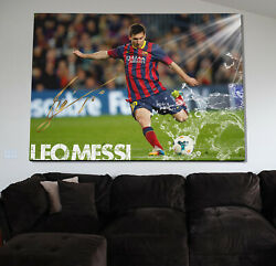 Lionel Messi Goal Poster Or Canvas
