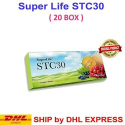 20 Box Superlife Stc30 Supplement Stemcell Activator Vitamins Fast Dhl Express