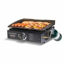 Portable Gas Grill Gutdoor Propane Cooker Camping Griddle Tabletop Graden Bbq