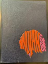 Anderson High School Yearbook 1968 Indian 68 Anderson, Indiana In