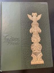 Anderson High School Yearbook 1966 Indian 66 Anderson, Indiana In