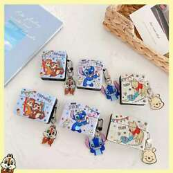 Cute Stitch Pooh Bear Headphone Charging Box Case for Apple Airpods 1 2 Pro $10.43