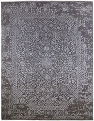 Solo Rugs - Pierre, Contemporary Transitional Hand-knotted Area Rug
