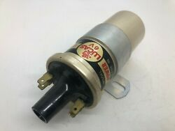 Jaguar Vw Porsche And Others Lucas Hp6 Hp 6 Early Ignition Coil 6 Volt Genuine Nos
