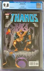 Thanos 13 2nd Ptg Shaw Variant Cgc 9.8 Second Print Donny Cates Marvel Comic 1