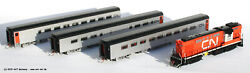 Rapido H0 131502 - Canadian National Tempo Train Set 4-tlg,dcc And Sound,new Boxed