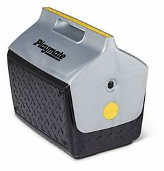 Igloo Boss Playmate Cooler Picnic Camping Lunch Box Diamond Plate Design 14.8 Qt $25.95