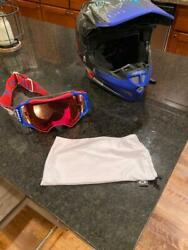 Troy Lee Designs SE4 Liberty Composite Helmet Oakley Airbrake Prizm MX Goggles $300.00