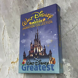 Walt Disney 24 Classics Movie Collection Lot DVD 12 Disc Box Set Fast Shipping $31.99