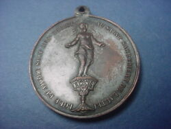 France Medal Miracle Of Douai National Pilgrimage 1875 62402