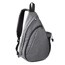 OutdoorMaster Sling Bag Small Crossbody Backpack for Men amp; Women Gray $27.48