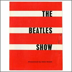 The Beatles 1963 Romford And Guilford Concert Programme Uk