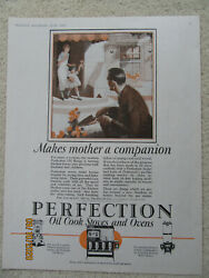 1925 Original Ad Perfection Oil Cook Stoves And Ovens Plus Boss Oven / Aerolux