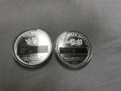 History Of Early America Coins...silver Plated Copper